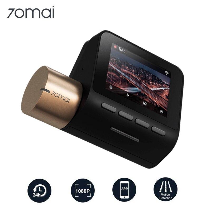 Car DVR Cam-Lite Parking-Monitor Wifi 70MAI Night-Vision 1080P 24H GPS 30 130FOV Dash