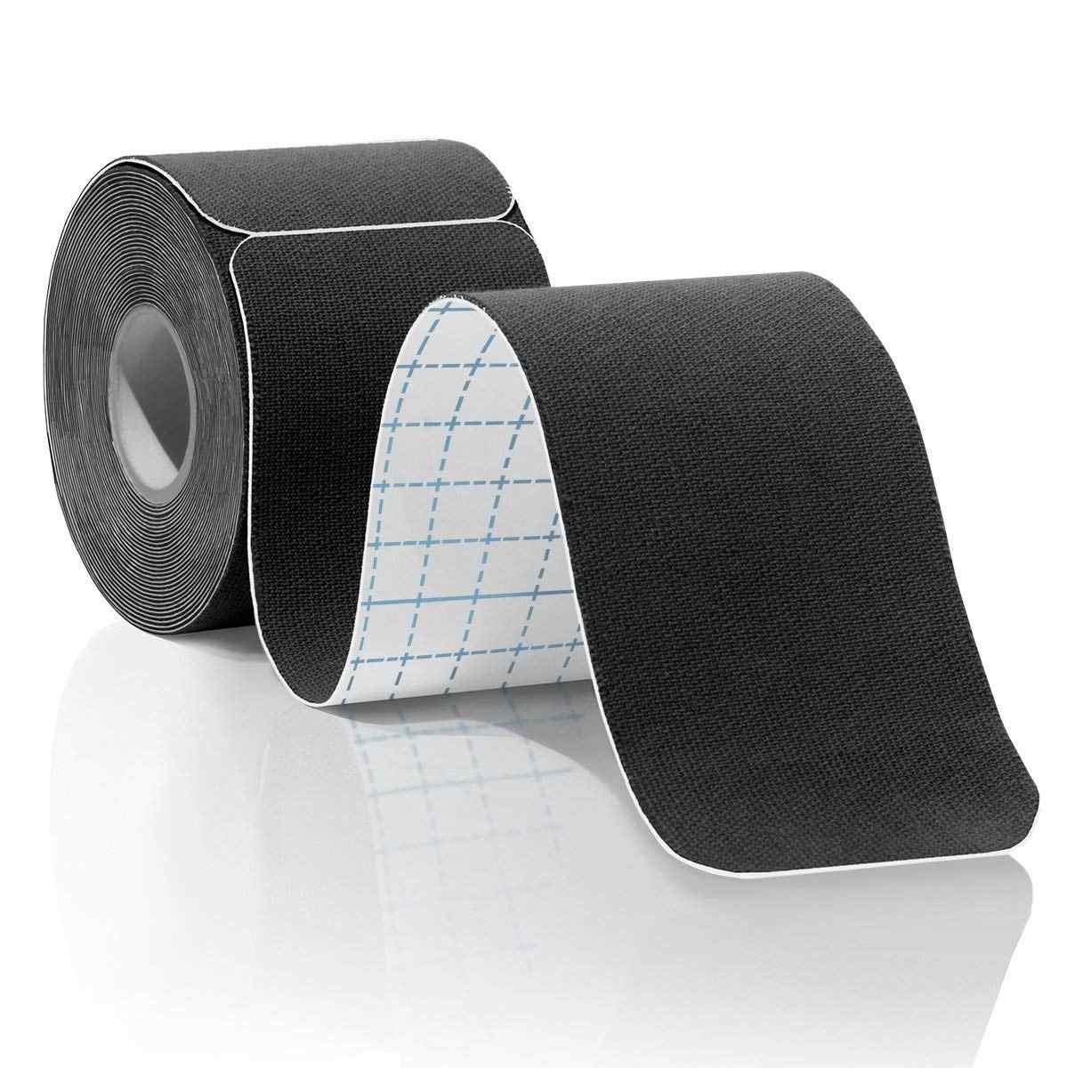 1pc プレカット/包茎キネシオロジーテープおっぱいテープ筋肉痛緩和フィットネス通気性防水スポーツ治療粘着テープ