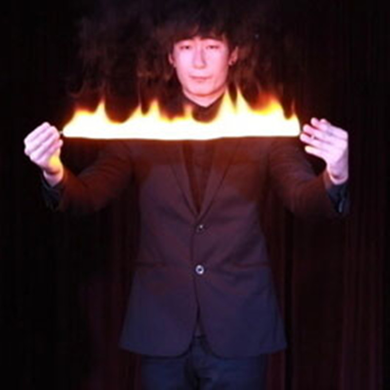 Fire Reel Flame Road Magic Tricks Produce Flame Magia Magician Stage Street Illusions Gimmick Magic Accessories Appear Mentalism