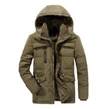 Мужская зимняя куртка 8XL Толстая теплая парка флисовая меховая с капюшоном Военная куртка уличная спортивная куртка походная Лыжная Мужская
