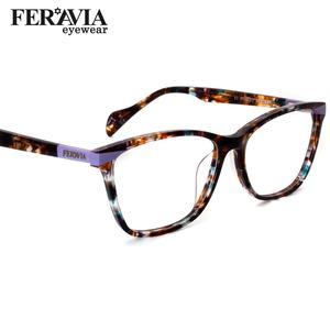 Image 1 - Nieuwe Vlinder Bril Vierkant Frame Modieuze Bril Frame Mooie Print Eyewear Voor Vrouw FVG7138