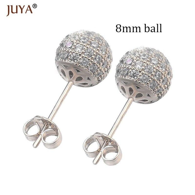 8mm ball silver