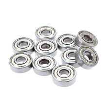10 pcs. Ball bearings miniature deep groove ball bearings 608 ZZ 8 x 22 x 7mm Bearing Steel 30pcs lot f6900zz f6900 zz 10x22x6mm flange thin wall deep groove ball bearing