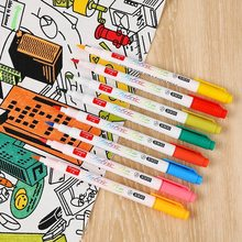 Diy Painting Fabric Pen Drawing Graffiti Art Markers Coloring Hand Painted Use On Clothes Accessories Textiles