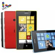 """Nokia Lumia 520 разблокированный мобильный телефон двухъядерный 3g wifi gps 4,"""" 5MP 8 Гб Nokia 520 Восстановленный Windows сотовый телефон"""