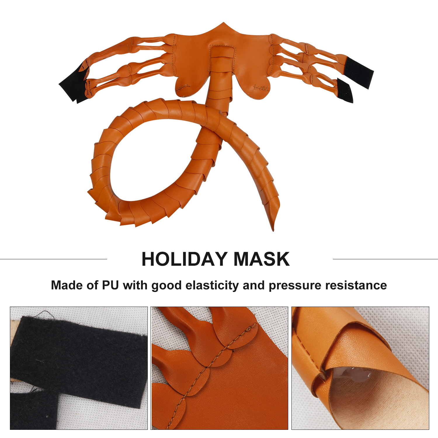 Facehugger Costume Alien Facehugger Face Hugger Costume Prop Scary Claws Insect