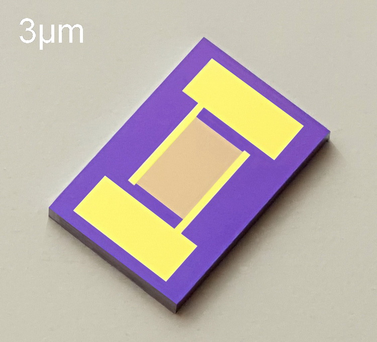 Silicon Based Interdigital Electrode Capacitor Array Gas Humidity Biosensor Chip MEMS High Precision