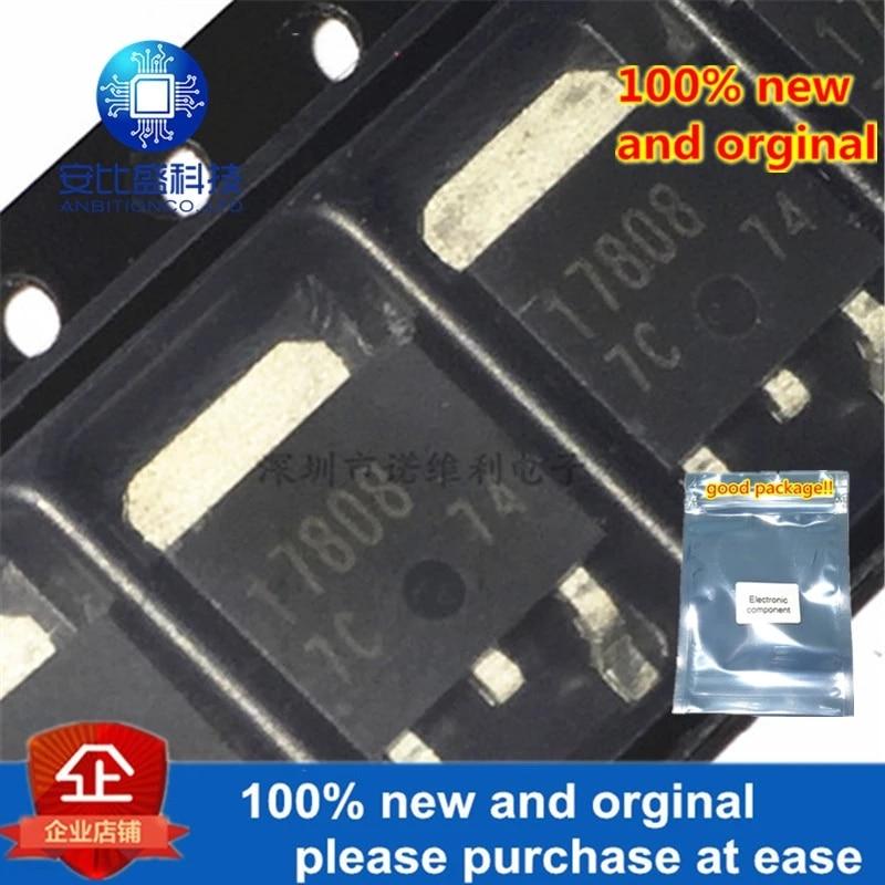 10pcs 100% New And Orginal BA17808FP-E2 SILLK-SCREEN 17808 TO252 1A 8V In Stock