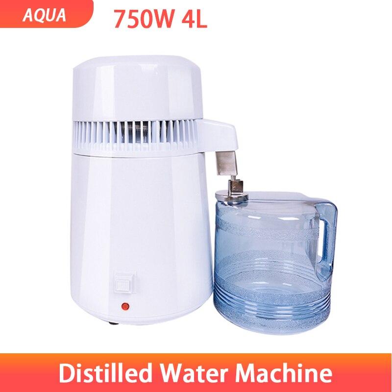 Пластиковая машина для дистилляции воды, машина для дистилляции и очистки воды, пластиковый очиститель воды, 750 Вт
