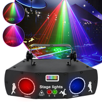 5 eyes 3 in 1 Laser Stage Light DMX512 effetto Controller proiettore RGB LED stroboscopico barra luminosa decorazione per palcoscenico ad alte prestazioni