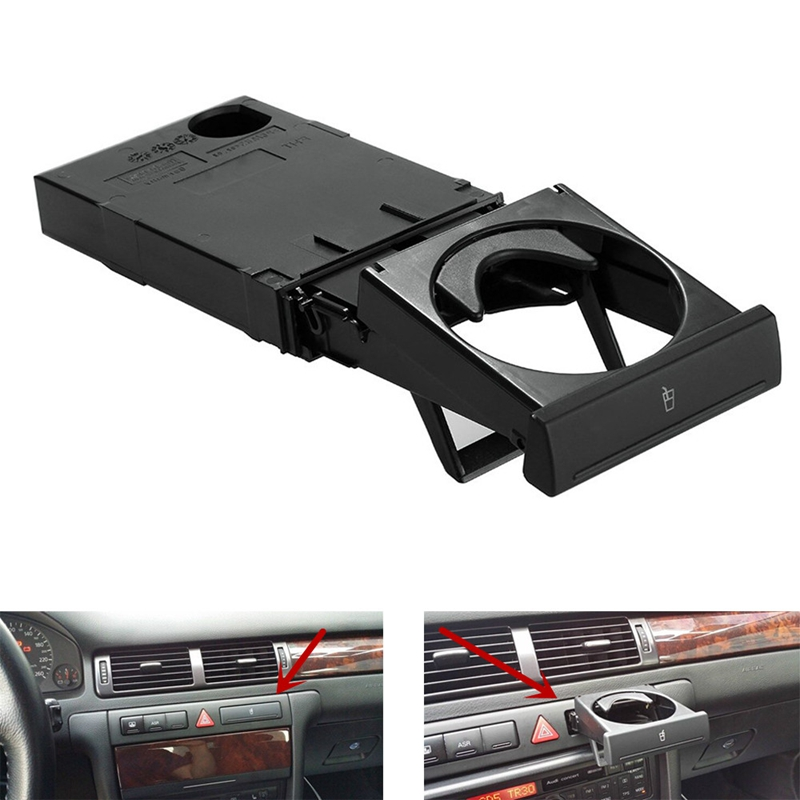 Stretch Fold Cup Holder For AUDI A6 C5 1998-05 A4 98-2002 4B0862534D