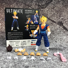Spot Demoniacal Fit Dragon Ball Z DBZ shf SSJ Ultimate Fighter Goku Vegeta Vegetto Actie Figuur Figurals Brinquedos(China)