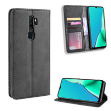 Leather Flip Cover For OPPO A9 2020 Case