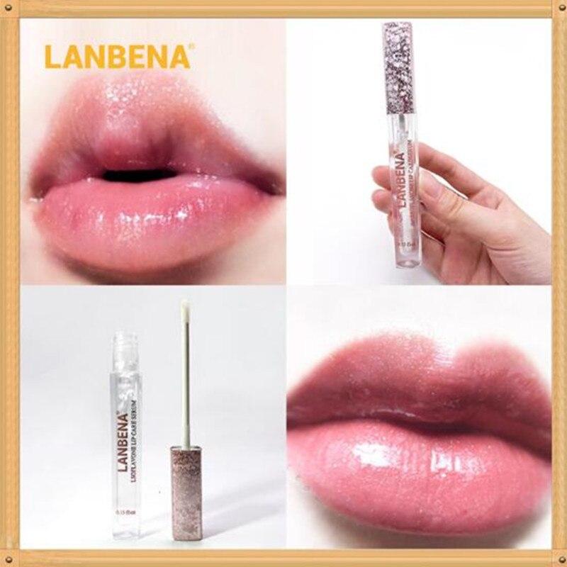LANBENA увеличитель губ увеличения губ Увеличение, стойкая краска для усиления цвета Увеличение губ для губы пухлые его уплотняет Сыворотки питает и увлажняет кожу, усиливает ее эластичность, Уход Бальзам для губ|Губы| | АлиЭкспресс