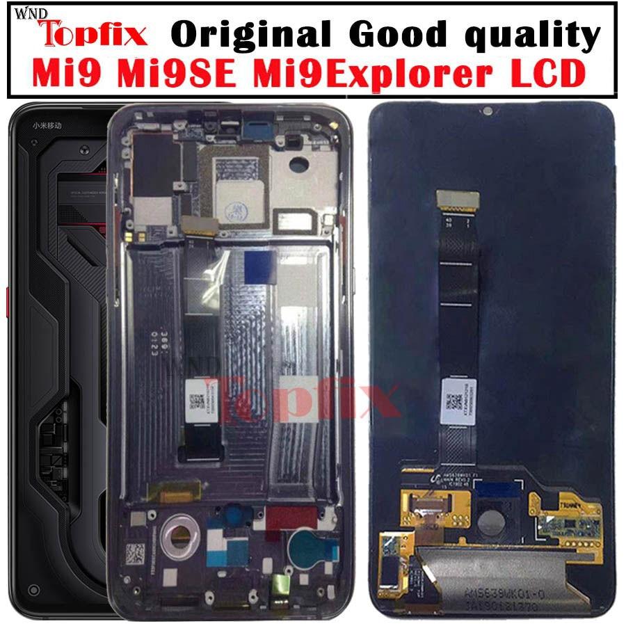 AMOLED For Xiaomi Mi 9 9T Pro LCD Mi9 Display Xiaomi Mi 9SE LCD Touch Screen Mi 9SE LCD Mi 9 Transparent Edition LCD Digitized