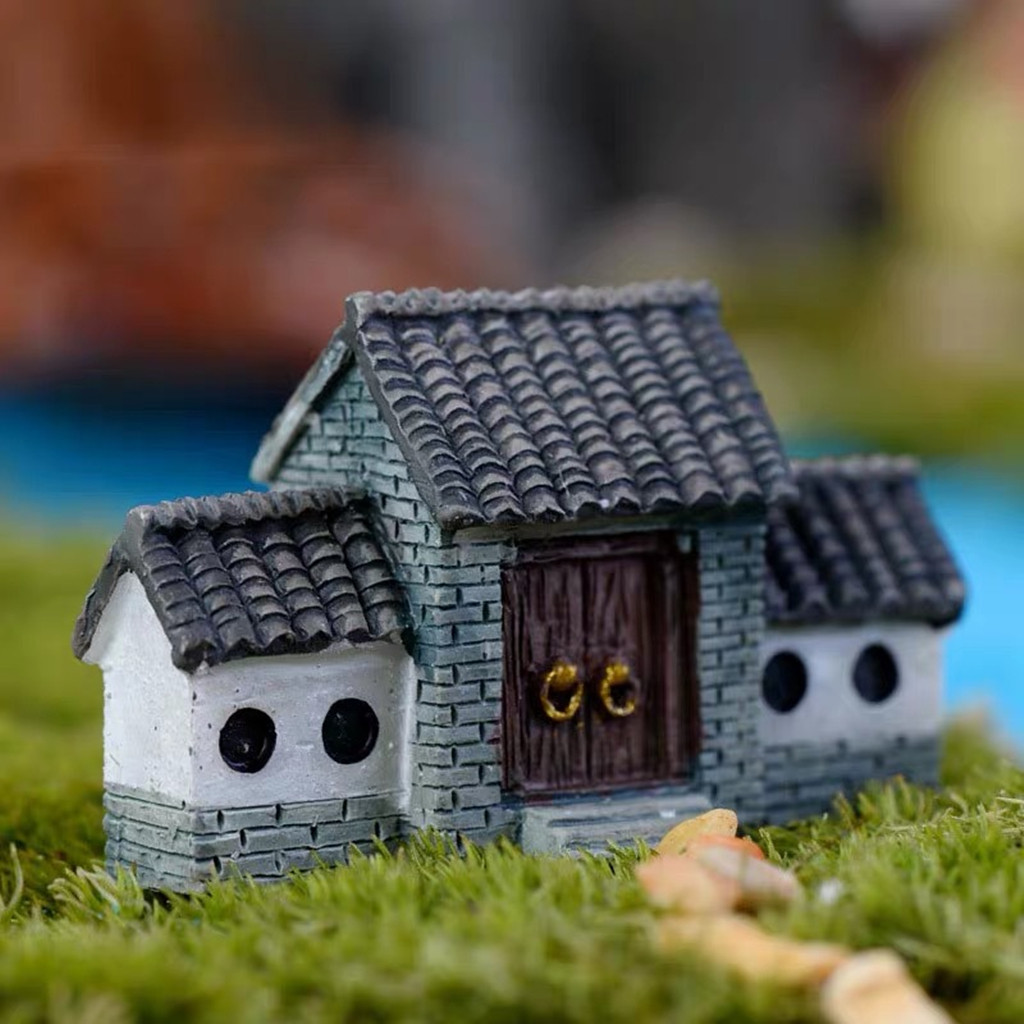 Dollhouse Decoration Miniature Scene Ancient Archway Kids Pretend Play Toy Accessories Juguetes Kids Toys Brinquedos игрушки