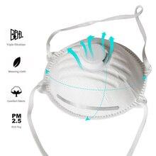 1PCS FFP2 Mascarilla facial con máscara facial Valave PM2.5 ffp2