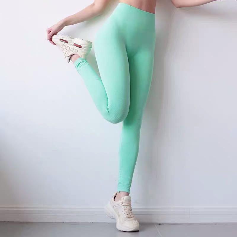 2020 Vital Seamless Leggings Women Fitness Running Tights Yoga Pants High Waist Leggings Push Up Sport