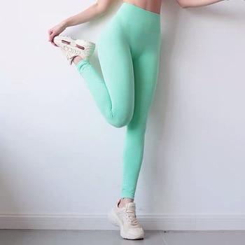 2020 Vital Seamless Leggings Women Fitness Running Tights Yoga Pants High Waist Leggings Push Up