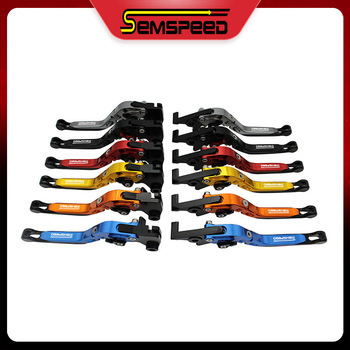Folding Extendable Clutch Lever Brake Semspeed Motorcycle brake levers for Honda PCX 125 150 2012 -2019 Modification image