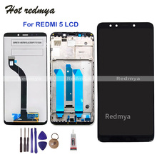 LCD Display For Xiaomi Redmi 5 Touch Screen Digitizer Assembly Replacement 5.7 inch For Redmi 5 Display Frame +Free Tools цена в Москве и Питере