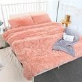 160*200 см элегантное одеяло для кровати диван покрывало длинное лохматое мягкое теплое постельное белье Простыня кондиционер одеяло совреме...