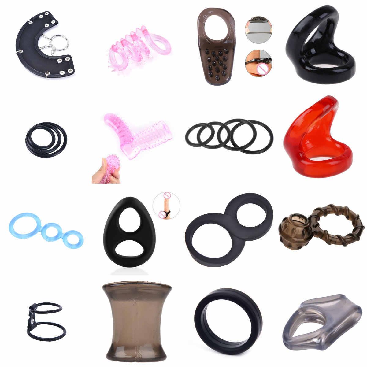 성인 섹스 제품 남성 순결 장치 페니스 링 지연 사정 수탉 반지 성인 게임 섹스 토이 남성 에로틱