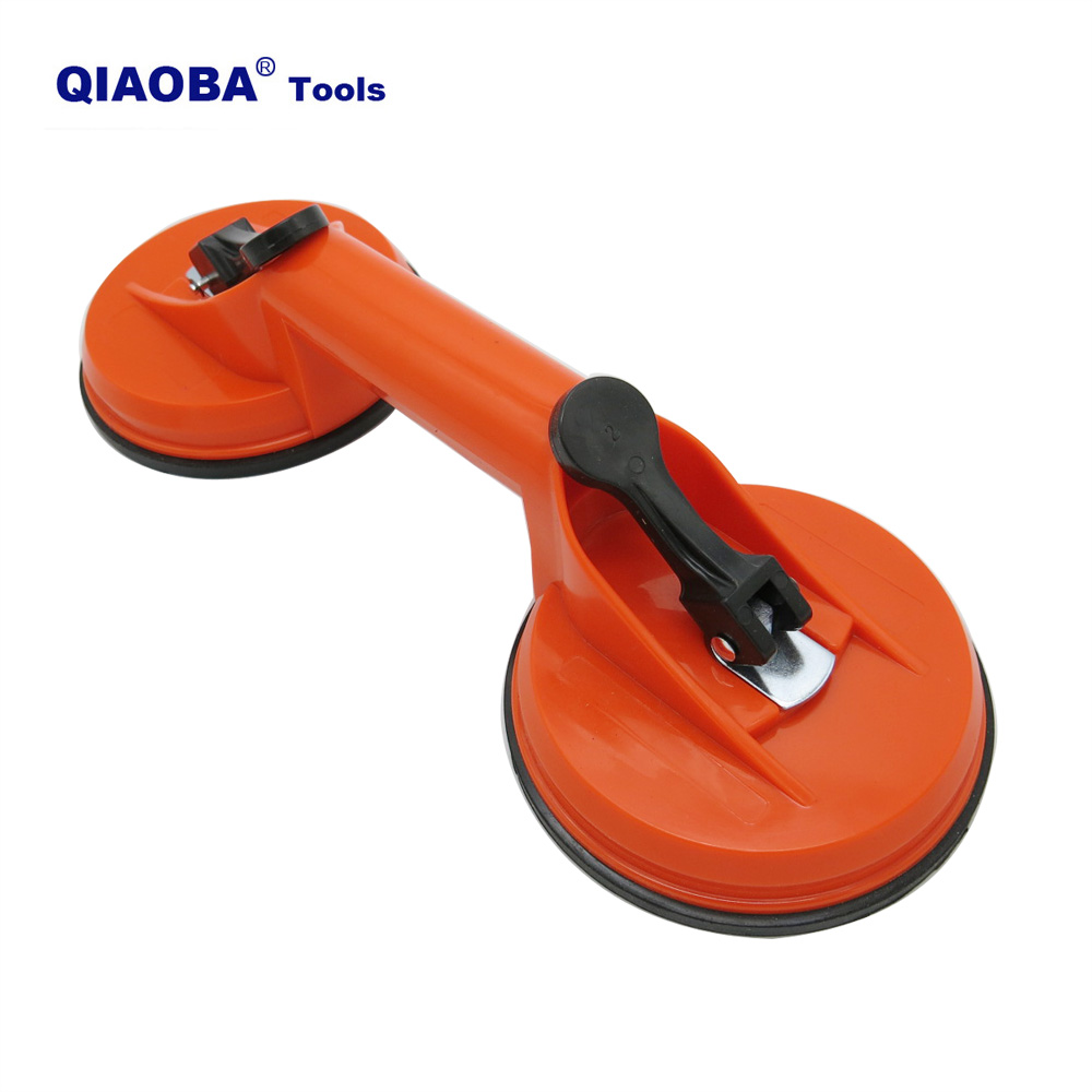 Double Claw Plastic Vacuum Sucker For Tile And Glass Vacuum Sucker Pads Vacuum Rubber Glass Sucker