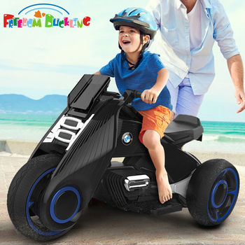 Motocykl elektryczny dla dzieci trójkołowy dla dzieci zabawki 2-7 lat chłopiec i dziewczynka akumulator dla dzieci podwójny napęd elektryczny samochód może siedzieć ludzi tanie i dobre opinie Freedom duckling Trzy Z tworzywa sztucznego Motocykle 2 kinds of size 83*42*47 CM 105*49*59 CM 5-7 lat 2-4 lat 6188 6199