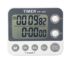 Cooking Timer With Loud Alarm Large LCD Display Cooking Timer Magnetic Digital Kitchen Countdown Timer portable 1 7 lcd digital kitchen timer green white black