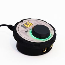 New Professional Mini HALO LCD Tattoo Power Supply with Power Adaptor for Coil & Rotary