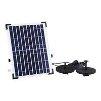 Garden Supplies Solar Fountain Solar Birdbath Fountain 10W Solar Panel Kit Water Fountain Pump For Pool Pond Garden Aquarium