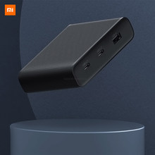 Xiaomi Mijia ZMI USB Charger 65W High Power Desktop Fast Charge Edition Power Adapter Quick Study Room Bedroom Office Travel(China)