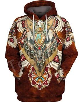 Tessffel Indian Native culture Harajuku Casual Colorful Tracksuit New Fashion 3DPrint Unisex Hoodie/Hoodies/Jacket Men Women s-5 1