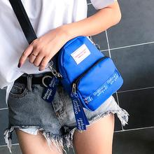 Women Canvas Shoulder Bags 2019 New Zipper Female Fashion Pure Color Casual Tote Bag Handbag Small Messenger Femme