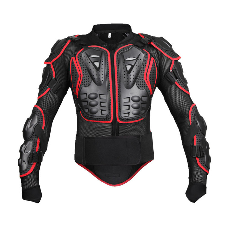 BC201 Racing Protective Clothing Motocross Motorcycle Locomotive Shatter-resistant Suit Chest Protector Armor Outdoor Cycling