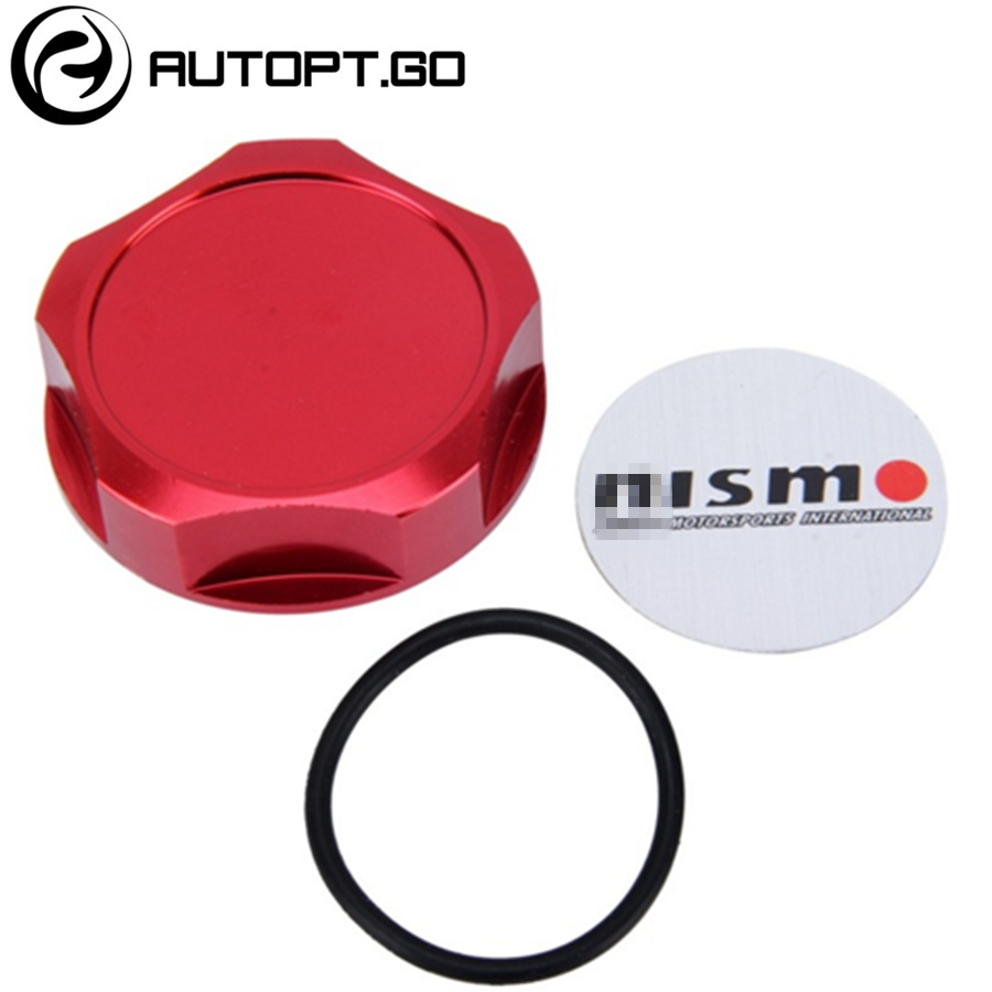 GOLD RACING FUEL TANK COVER OIL FILLER CAP FOR NISSAN NISMO X-TRAIL ROGUE ALTIMA