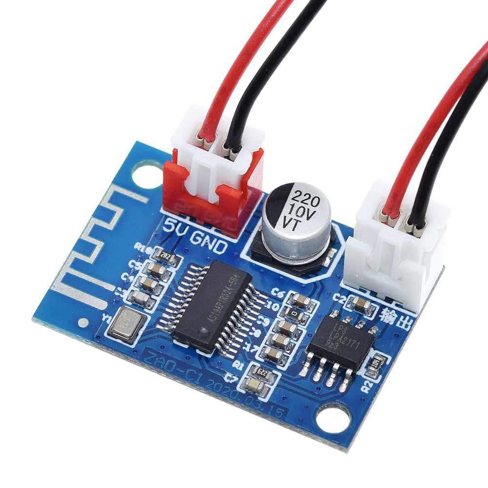 5v bluetoothアンプモジュール 5 ワットモノラルクラスdロスレス音楽プレーヤーデジタルパワーアンプ仕上がっボード