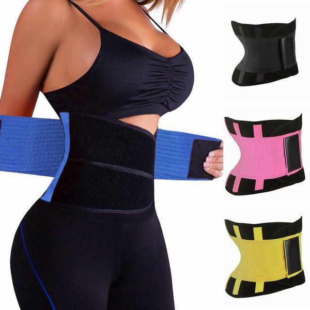 YIELODER Women Body Shapers Unisex Waist Cincher Trimmer Tummy Slimming Belt Latex Waist Trainer Woman Postpartum Corset Shaper