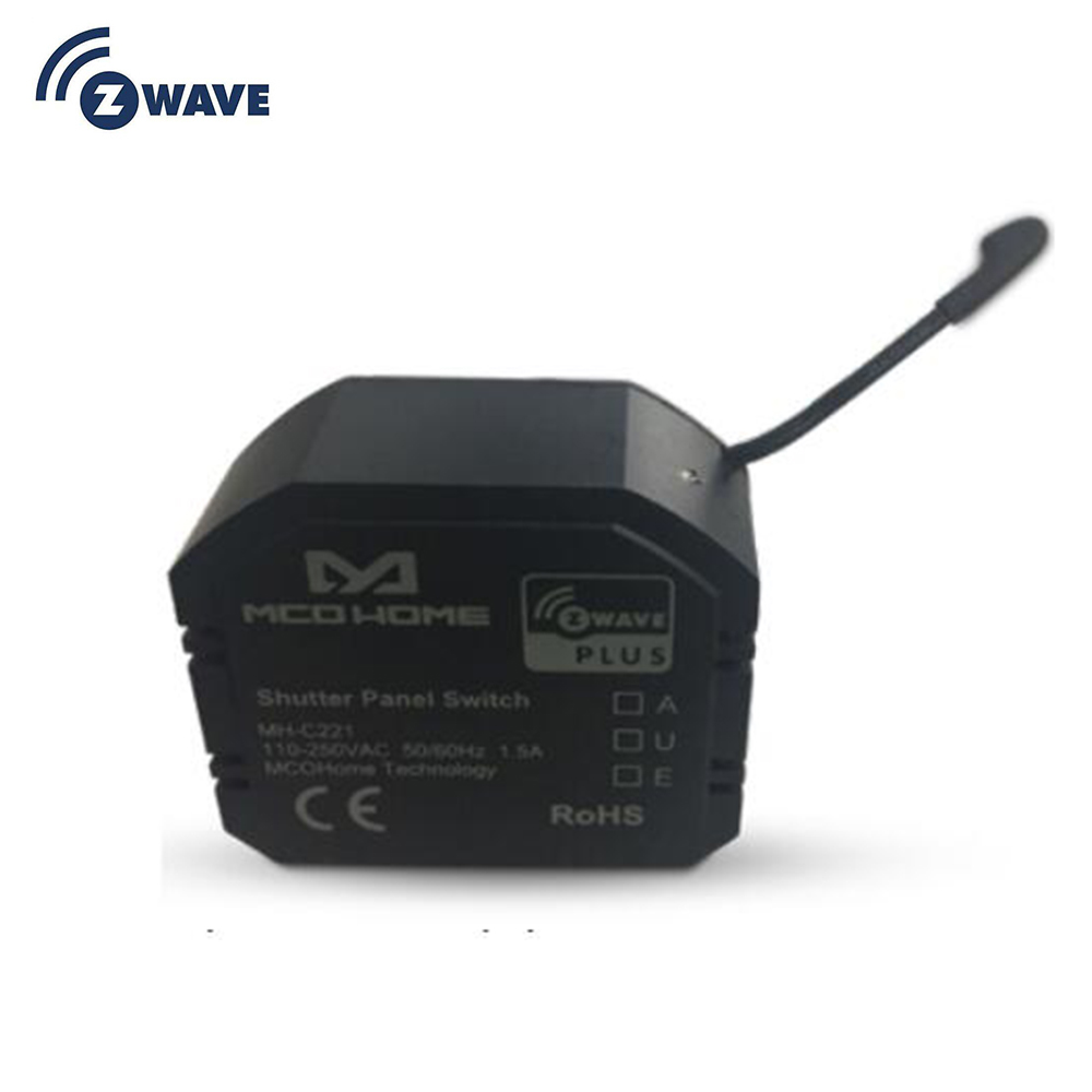 Smart Home Zwave Plus Roller Shutter Curtain Blind Switch Electric Motor DIY Smart Home With Energy Power Meter EU 868.4MHZ