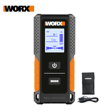 Worx Multifunktionale Wand Detektor WX085/WX086 Metall Holz & AC Kabel 3in1 Detektor 120mm tiefe Digital Display USB recharger