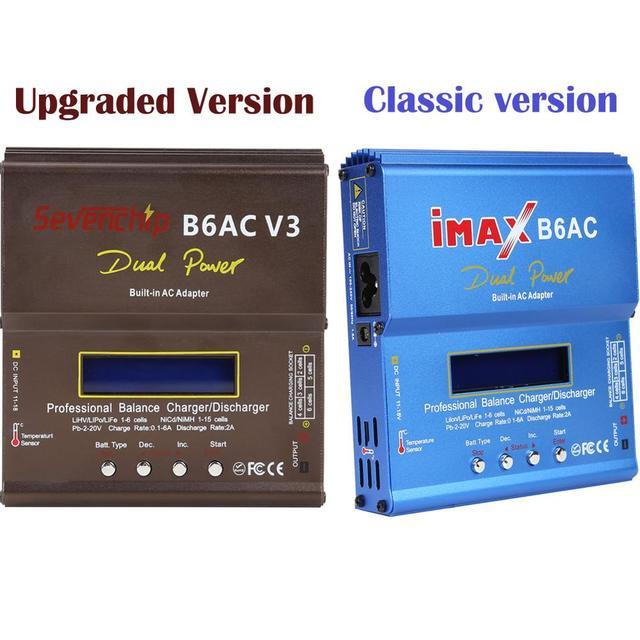 Prise ue/US iMAX B6AC 80W Balance chargeur Lion LiPo vie Pb NiCd et NiMH batterie déchargeur adaptateur secteur pour hélicoptère RC