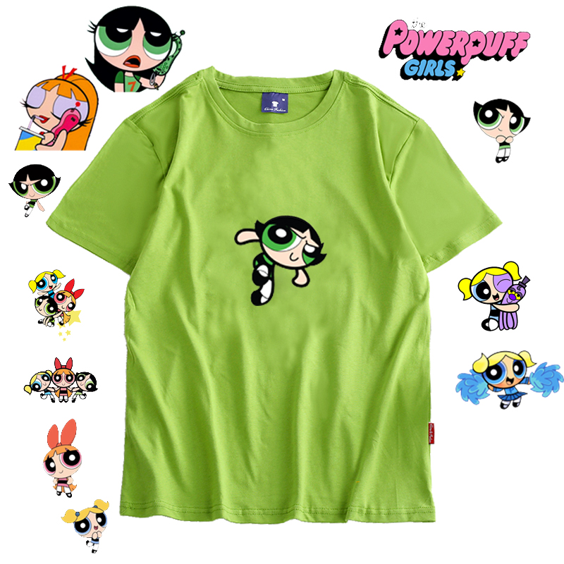 2019 Kawaii Girls T-shirt Harajuku Tee Women's Fashion Clothing Shirt  Cartoon Print T-shirts Girls Autumn Fashion Top