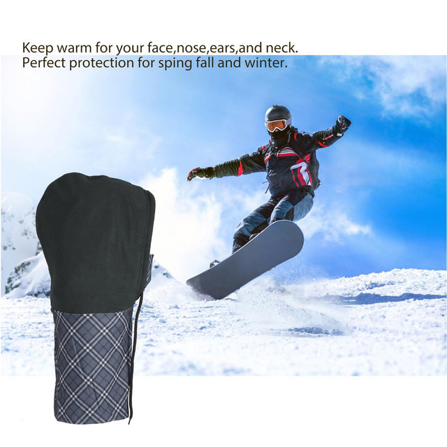 Windproof Fast Dry Warmer Polyester Mask Face Cycling Windshield for Outdoor Sports Motorcycling Skiing Snowboarding 3