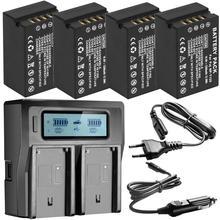 עבור Fujifilm NP T125 NP T125 סוללה BC T125 סוללה מטען עבור Fujifilm GFX 50S GFX50S GFX 50R GFX50R GFX 100 VG GFX1 גריפ