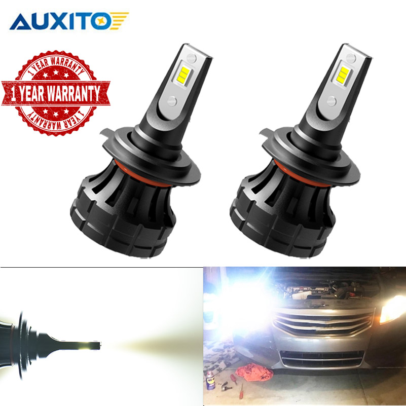 2PCS <font><b>H7</b></font> <font><b>LED</b></font> Headlight 60W 12000LM For Ford Mondeo For <font><b>Peugeot</b></font> 508 <font><b>2008</b></font> 3008 Auto <font><b>LED</b></font> <font><b>H7</b></font> Headlamp 6000K White For Citroen C5 image