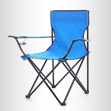 Outdoor Camping Portable Folding Chair Folding Oxford Cloth Fishing Beach Picnic Chair Chair With Cup Holder
