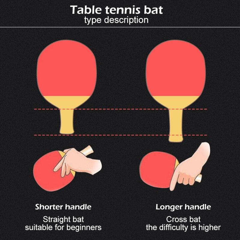 Купить ракетка для настольного тенниса 2 шт/лот ракетка ракетки с двойным
