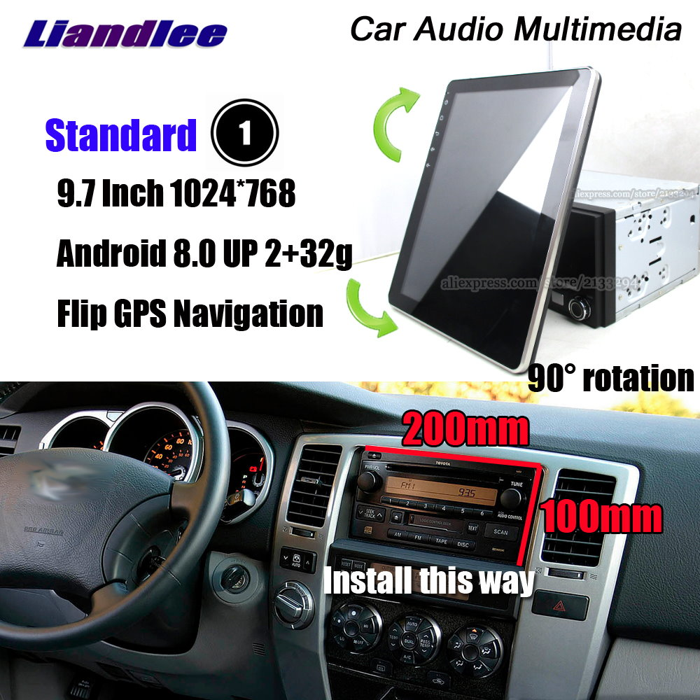 Car Audio Video Stereo Radio Android Multimedia For <font><b>Toyota</b></font> <font><b>4Runner</b></font> <font><b>2002</b></font>~2006 2007 2008 2009 IPS Screen GPS Navigation System image