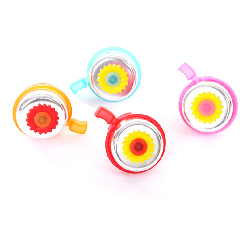 1PCs Kids Funny Bicycle Bell Horns Bike Daisy Flower Children Girls Boys Cycling Ring Alarm for Handlebars Bicycle Accessories